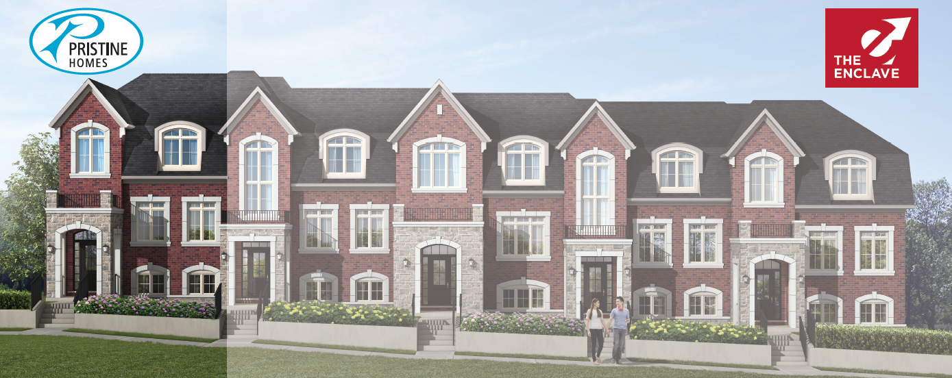 Townhouses in Markham
