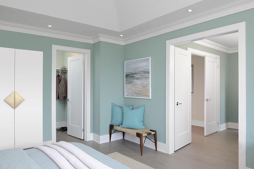 Model Home Bedroom View
