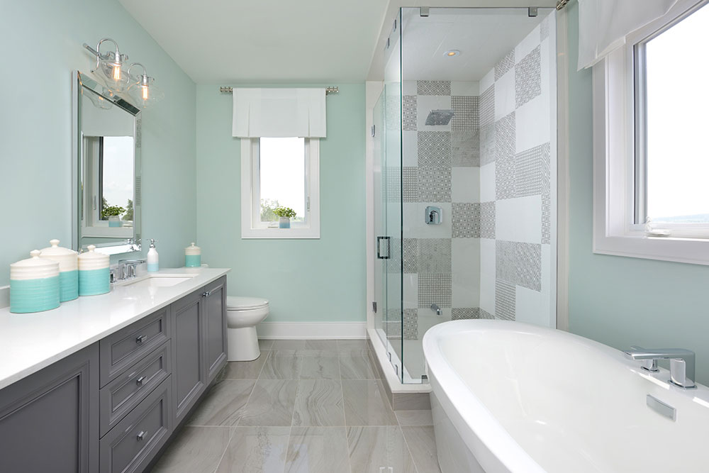 Model Home Bathroom View